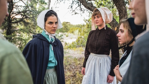You ain't seen Tara Khozein (left) quite this mean before. Her Abigail Williams is fierce. Bella Moses' portrayal of Mary Warren (center) is a revelation, too—keep an eye on that one.