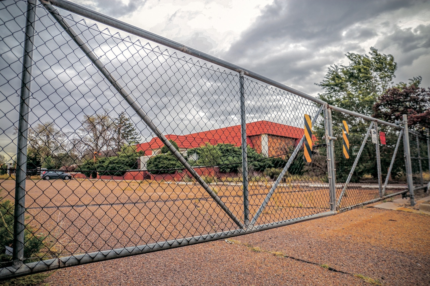 Once one of Santa Fe's biggest employers, the old Eberline facility has been fenced off and vacant for years.