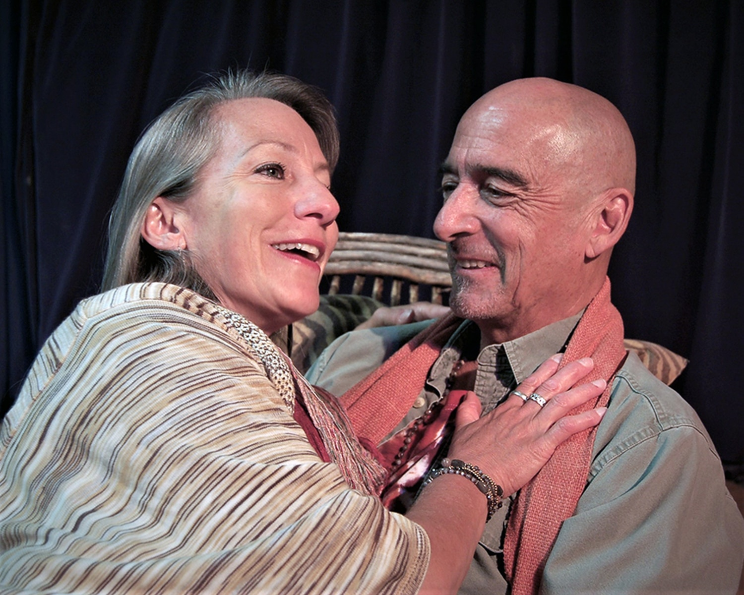 The Quality of Life opens this weekend at Teatro Paraguas and tackles tough subjects, featuring Barbara Hatch as Jeannette and Nicholas Ballas as her husband Neil.