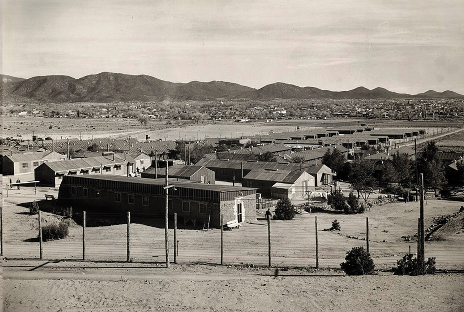 The World War II-era camp was located where the Casa Solana neighborhood sits today.