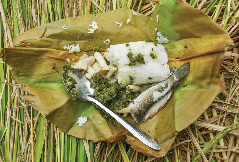 A Simple Lunch, Kelabit Highlands.