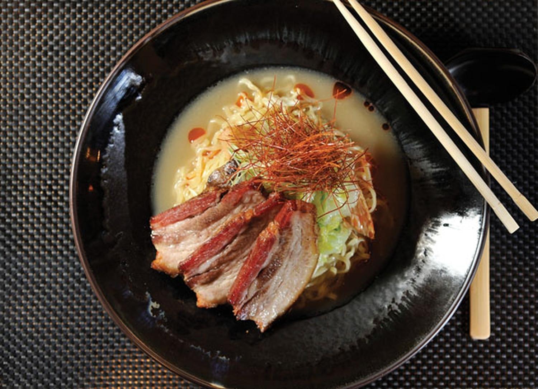 Traditional kyushu ramen