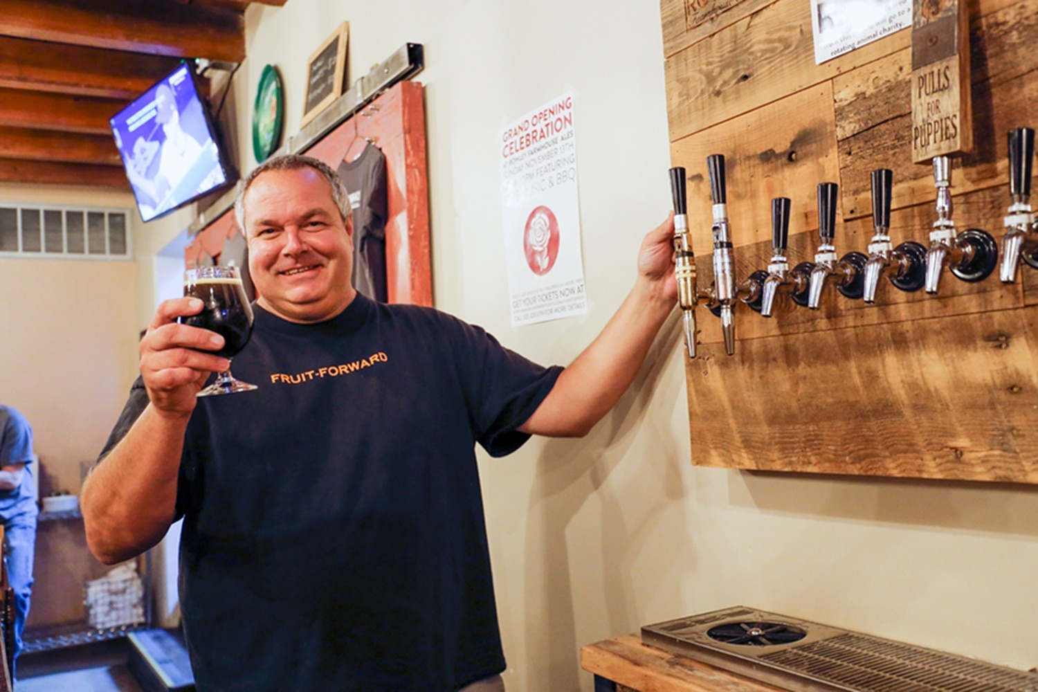 John Rowley of Rowley Farmhouse Ales is kind of a real-life mad scientist.
