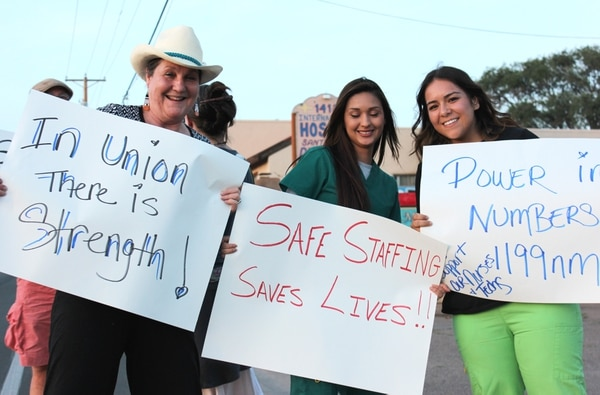 District 1199 moves rally to Cerrillos Road