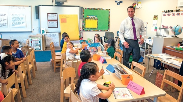SFPS embarked on an aggressive effort to enforce boundary rules during the tenure of former Superintendent Joel Boyd (pictured), according to school board member Steve Carrillo.