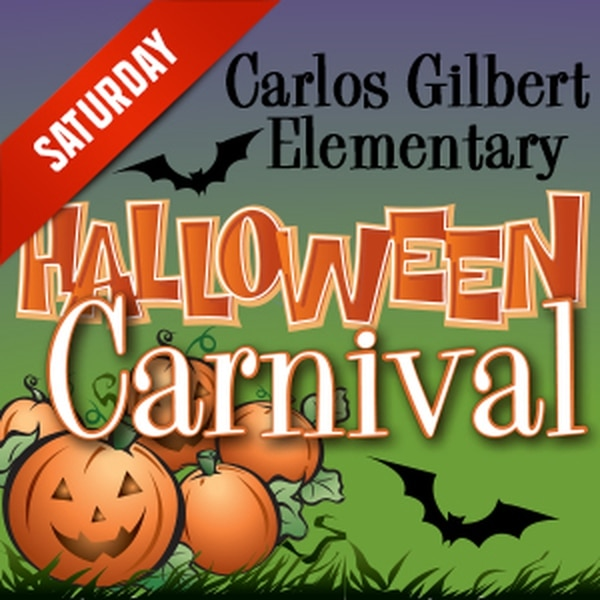 Halloween Carnival Enjoy a haunted house, games, a bounce house and a costume contest along with face-painting, food and live entertainment by Jorge the magician and Andy the juggler. More Info>>