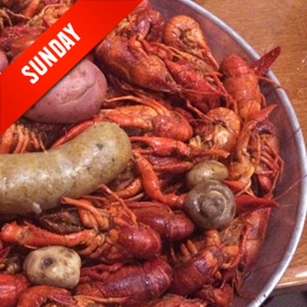 Crawfish Boil: The Blues Revue Band and Lee West Suck down some sea food and enjoy live blues from 1-4 pm and R&B jams by West from 5-8 pm. More Info>>