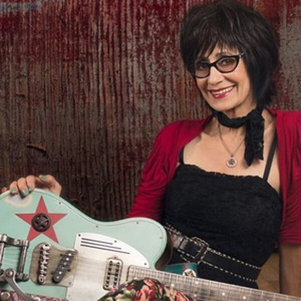 Rosie Flores Flores performs a rockabilly and honky-tonk concert with Susan Holmes at the Kitchen Sink Recording Studio, which is a cool new thing they do now. More Info>>