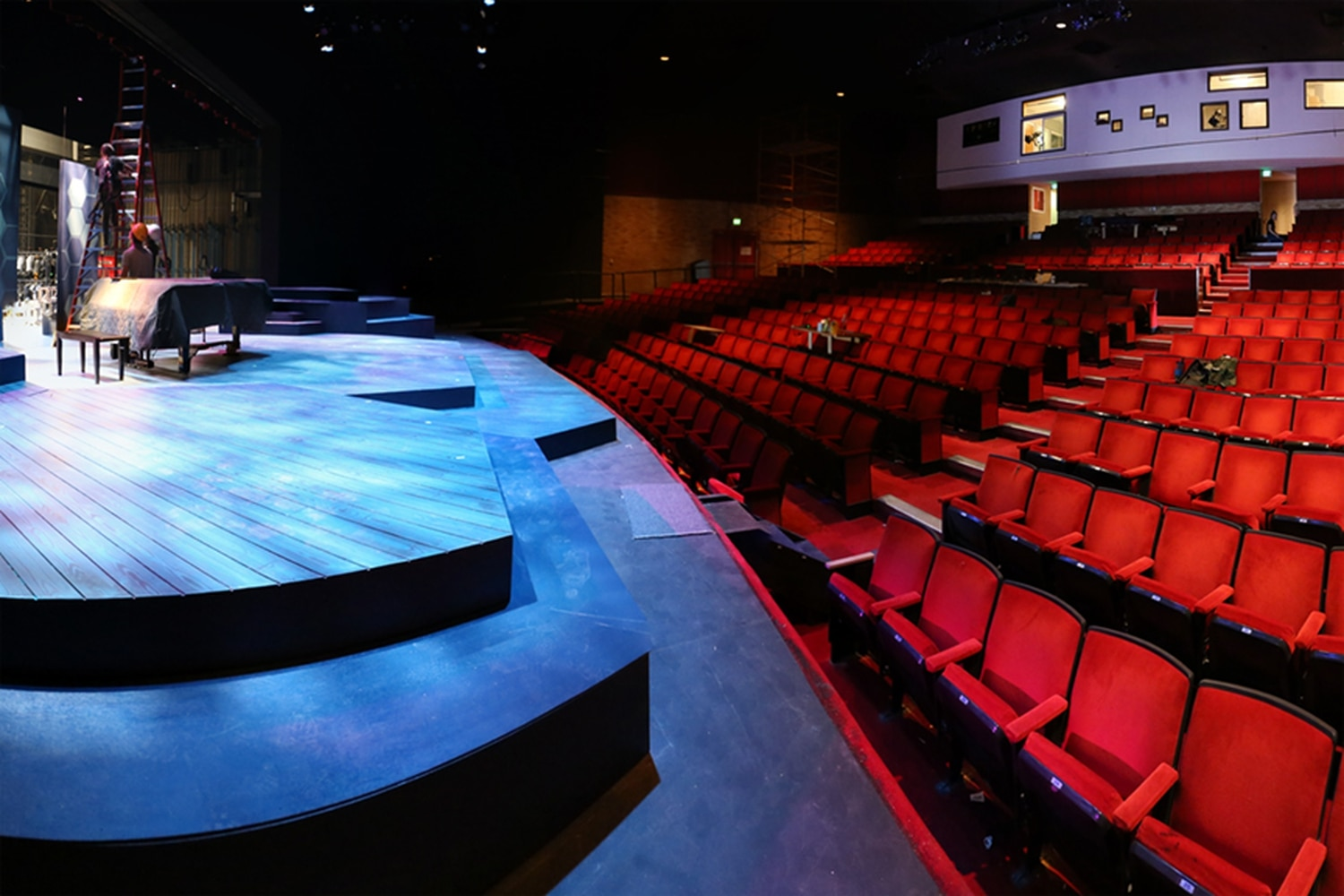 The Santa Fe University Of Art And Design S Greer Garson Theatre Is Many A Thespian Favorite