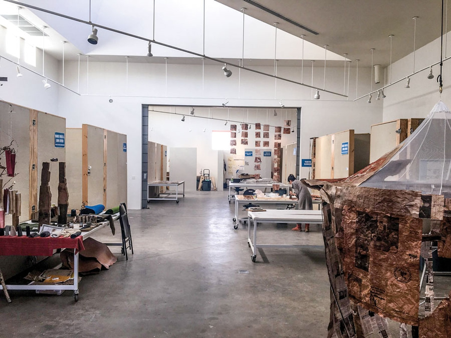 Artists, during their residencies, have living and studio space at SFAI.