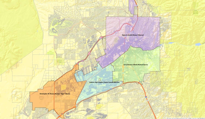 Santa Fe city council districts