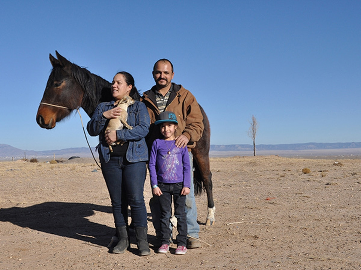 Edger and Bonnie Tena with daughter Rudy (7)