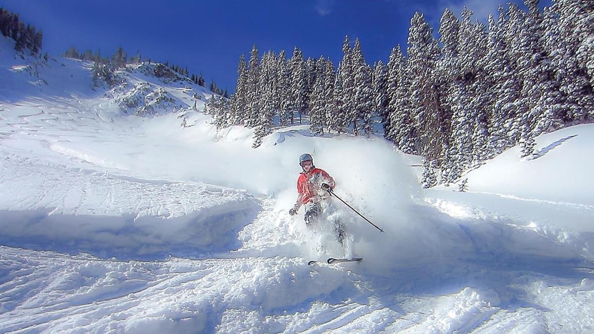 Powder Day in Taos Ski valley