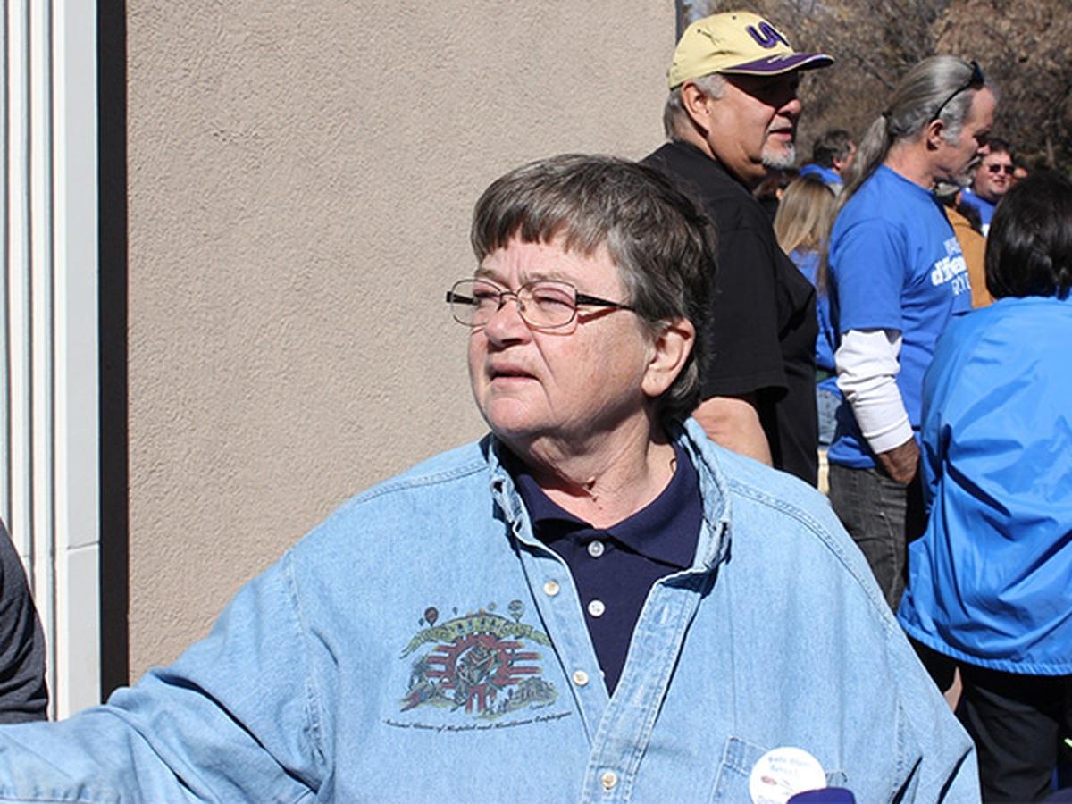 Fonda Osbourn is the president of the labor union that represents St. Vincent hospital nurses.