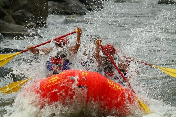 Get ready to feel freshwater in places it should never be - Courtesy SF Rafting