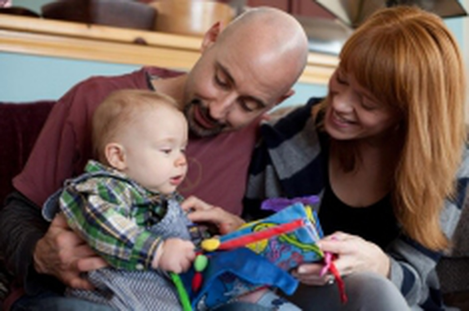 Though their time with their son is limited, Emily and Rick try to enjoy each moment with Ronan.Credits: Tony O'Brien