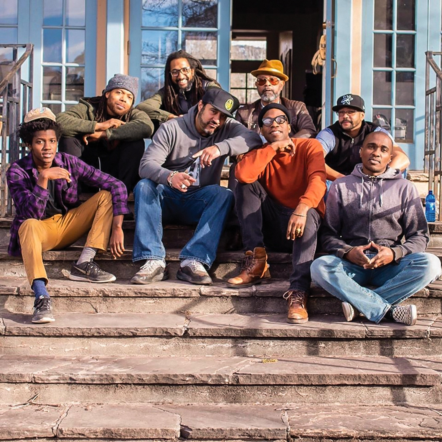 Ahmad recently assmebled a number of local black men to shoot a music video. Unplanned, the group wound up spending a large chunk of time talking and healing together.