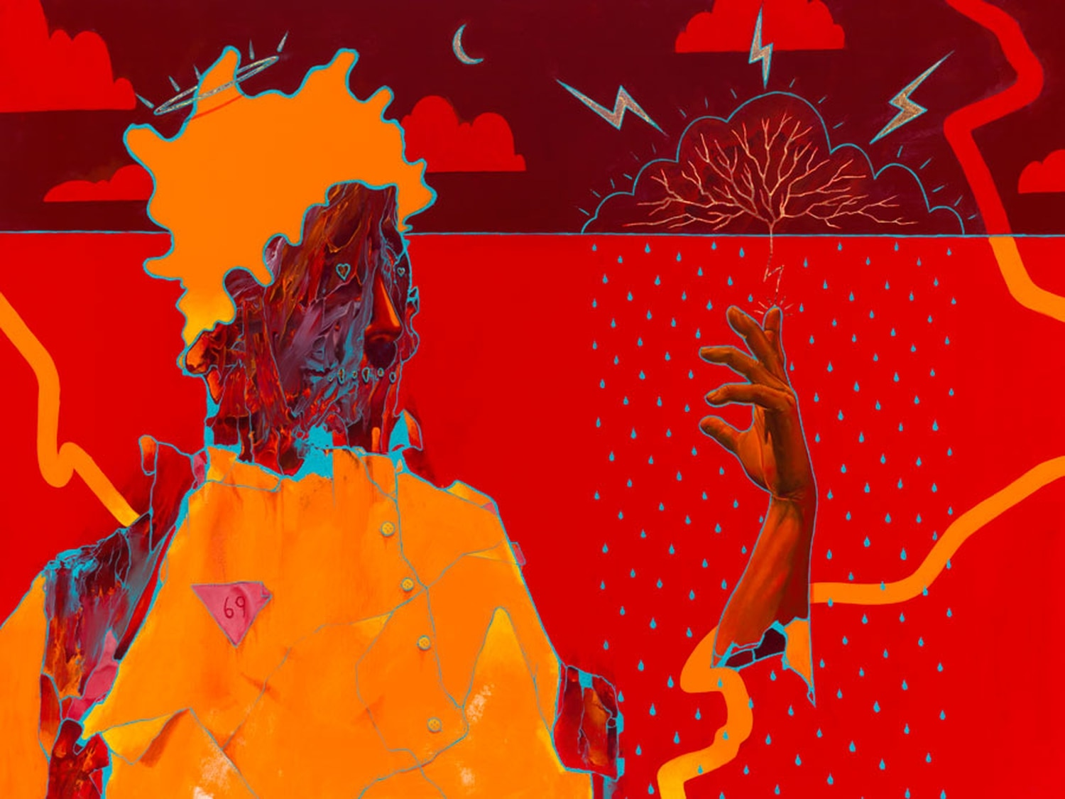 """Find """"Queer Messiah"""" by Anthony Hurd at KEEP Contemporary this month."""