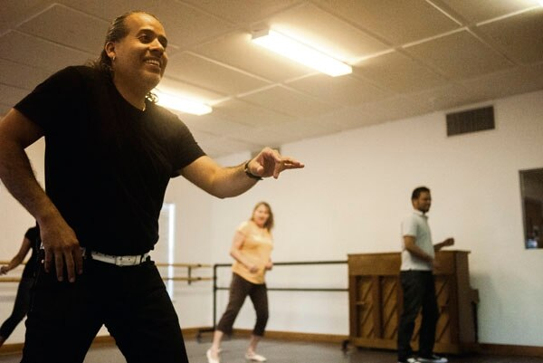 """Local salsa guru Tony Perez teaches the New York-style salsa according to a simple mantra: """"open your heart."""""""