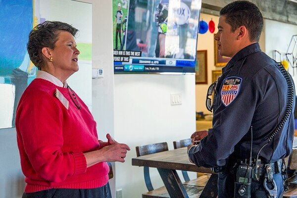 The Santa Fe Police Officers Union has endorsed Yvonne Chicoine in the race.