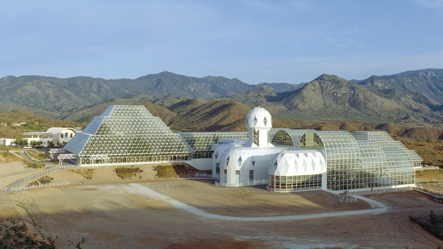Mark Nelson recently published a book on his time as part of Biosphere 2, a research project in Arizona.