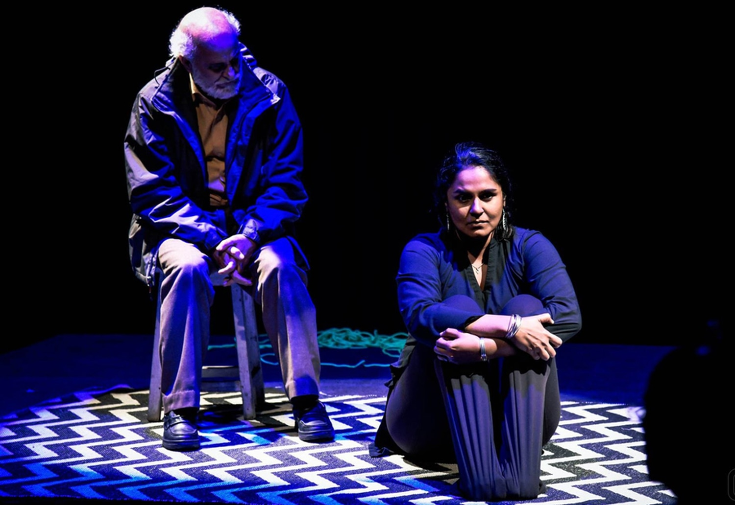 Scenes from Chronicles from Kashmir, a 24-hour performance Dinesh and her ensemble put on in Asia in 2013.