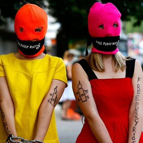 A Conversation With Pussy Riot Maria Alyokhina and Alexandra Bogino participate in the lecture about their time in the Russian feminist punk rock protest group based in Moscow. More Info>>