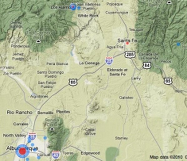 The Washington Post's database of top secret companies shows few based in New Mexico.