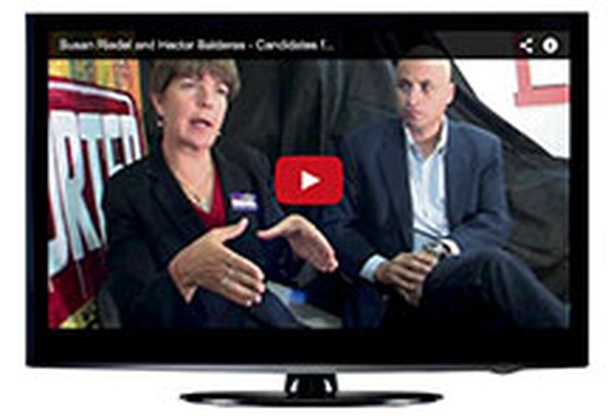 Candidate Chat Hear directly from those seeking office via SFR's video interview series