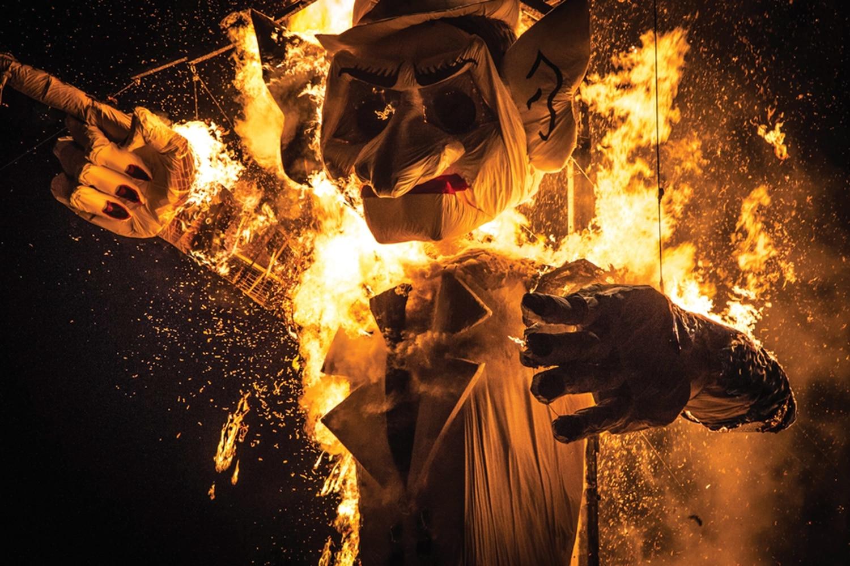 Burn Him (Fort Marcy Park, Santa Fe)