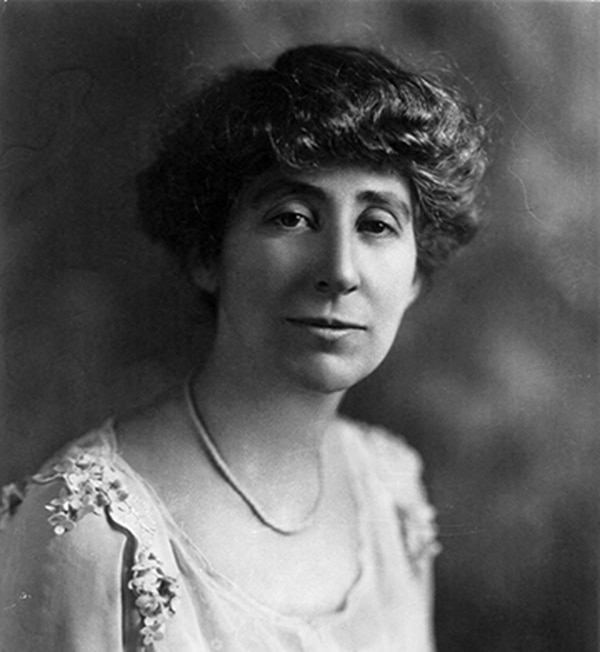 Jeannette Rankin was the first woman to serve in the US Congress.