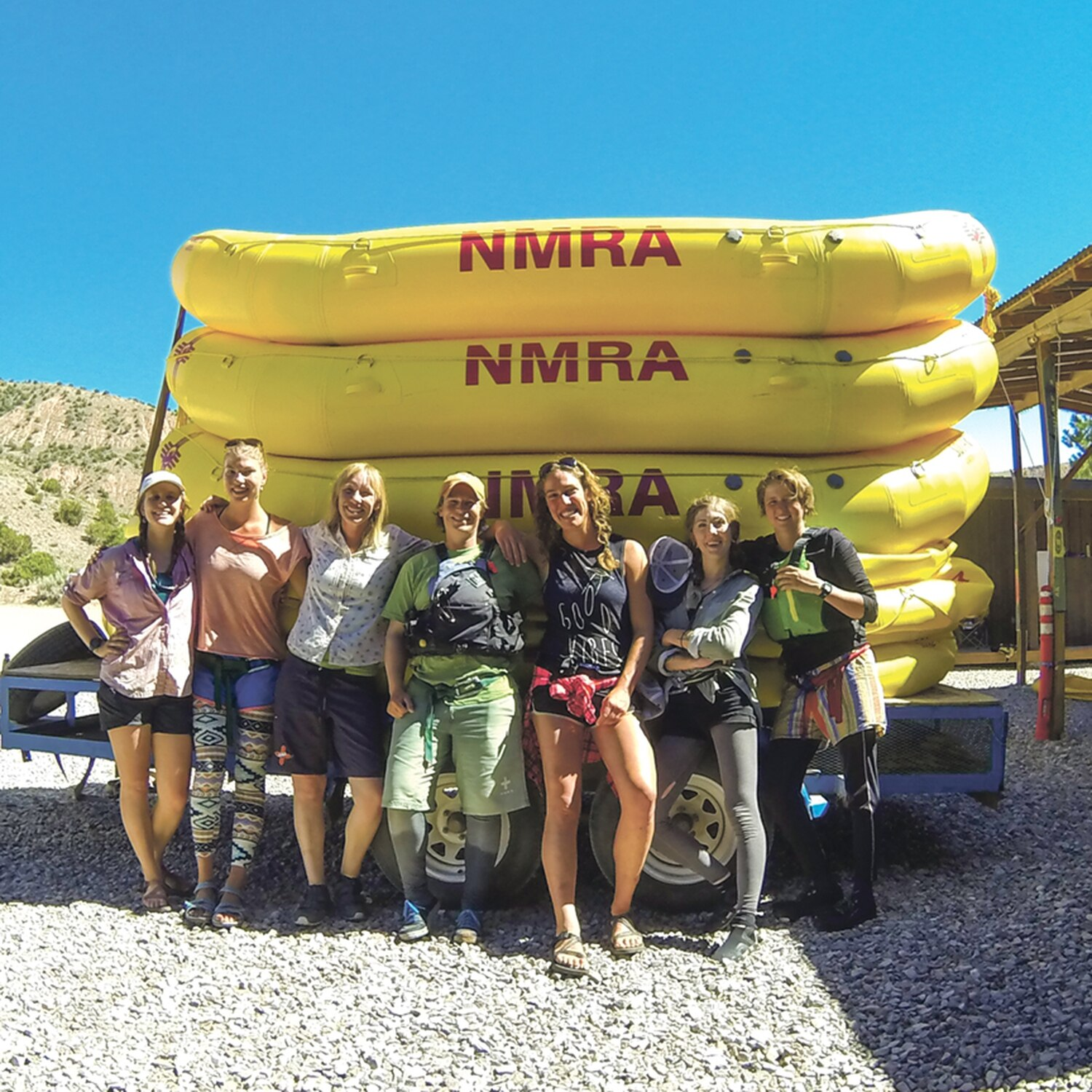 Female raft guides at New Mexico River Adventures say gender equality is on the rise—at least here.
