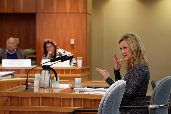 Despite more children entering foster care, CYFD secretary Monique Jacobson did not request any new funds for the next fiscal year.