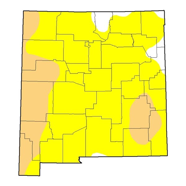Current New Mexico Drought Monitor map.http://droughtmonitor.unl.edu/