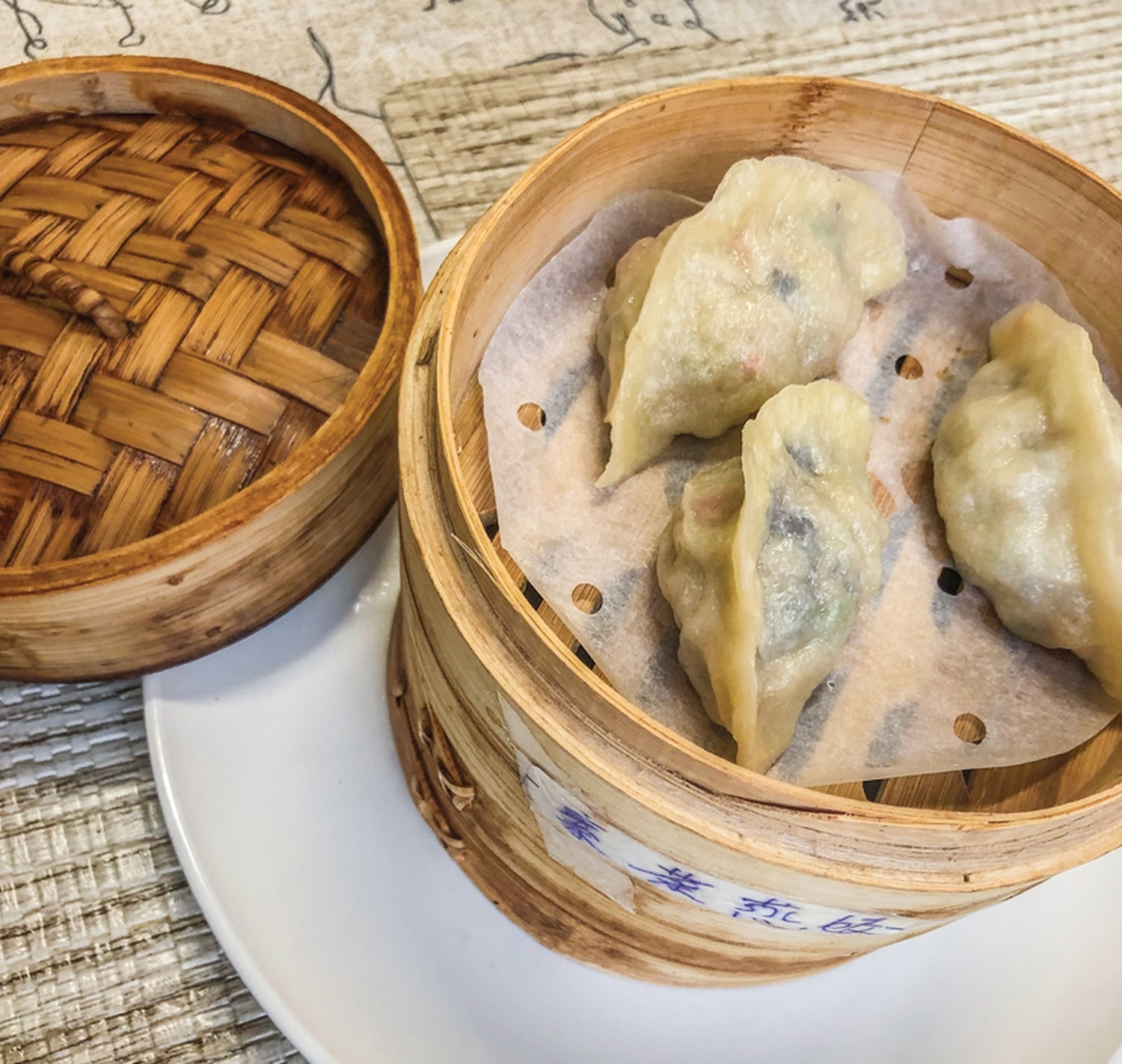Dumpling Tea & Dim Sum—almost a little too real.