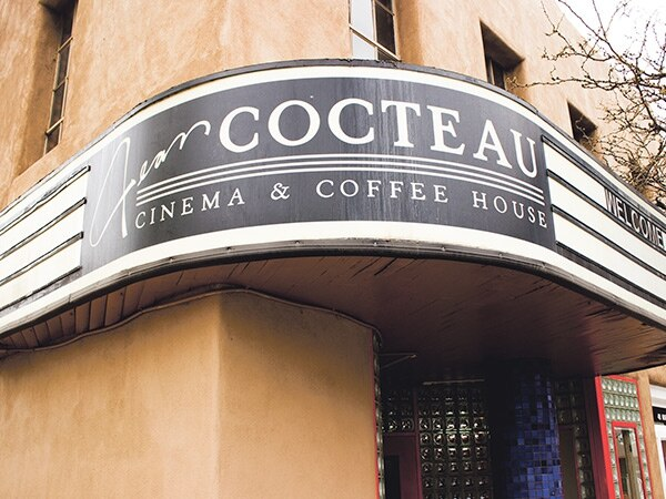 """Theater manager Jon Bowman promises an """"eclectic"""" selection of films at the revamped Cocteau. -Enrique Limón"""