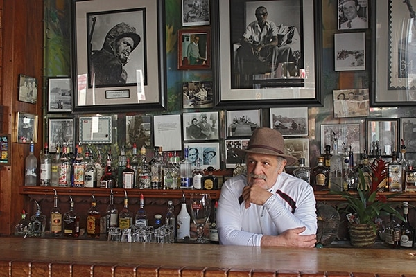 Nick Klonis, who also goes by Nikos, seldom misses a day of work at Evangelo's, the downtown bar his dad opened in 1969.