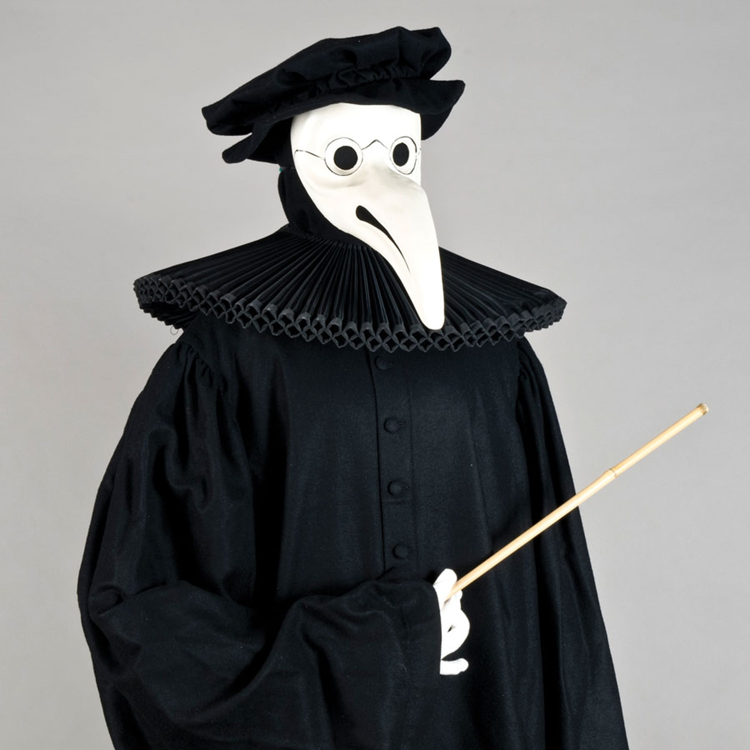 """""""Plague Doctor Carnival Costume"""" from Atelier Semenzato Paolo, part of MOIFA's upcoming #mask show."""