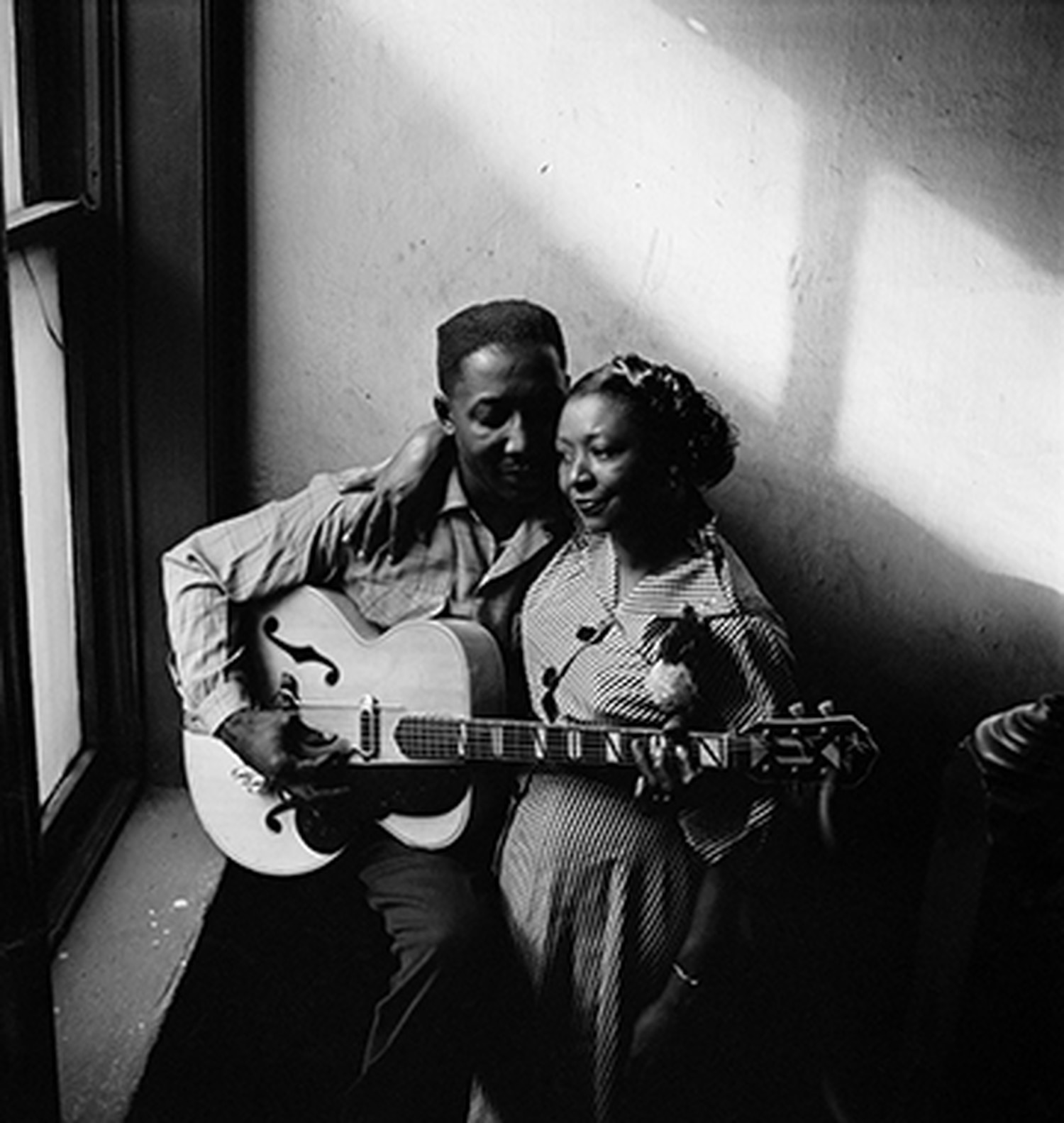 Muddy Waters and his wife, Geneva, 1950