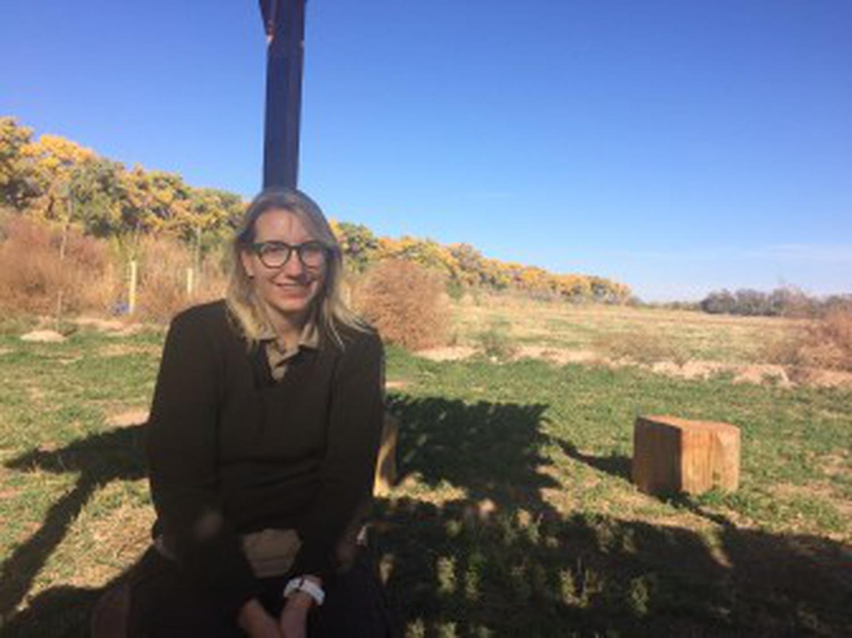 Refuge manager Jennifer Owen-White