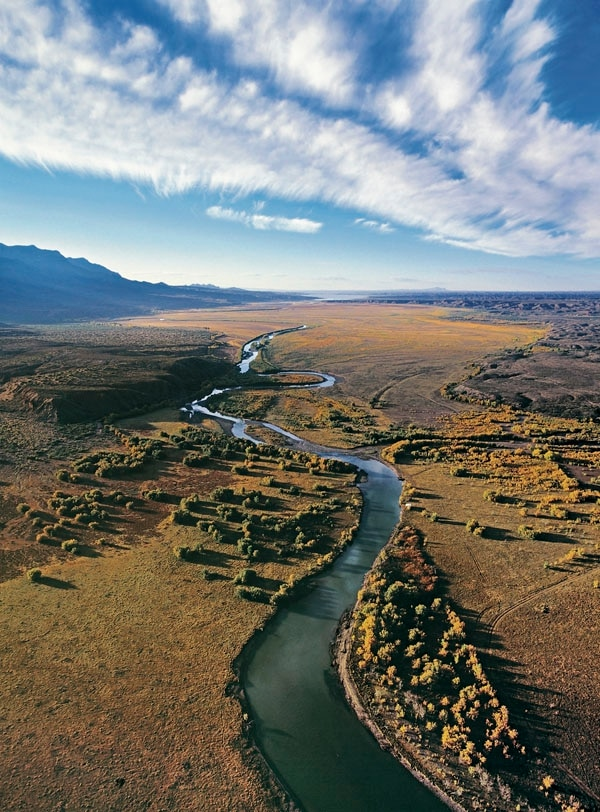 Pueblos, farmers, cities and corporations all hold rights to the Rio Grande's water, and it's the Office of the State Engineer's job to track rights and approve any trades from one user to another.
