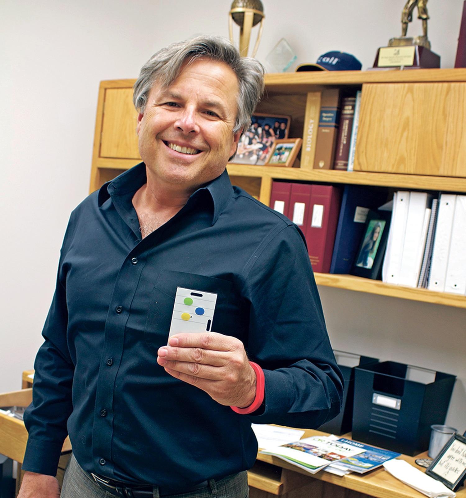 CEO Andrew Halasz says electronic sensors can help hospitals run better.