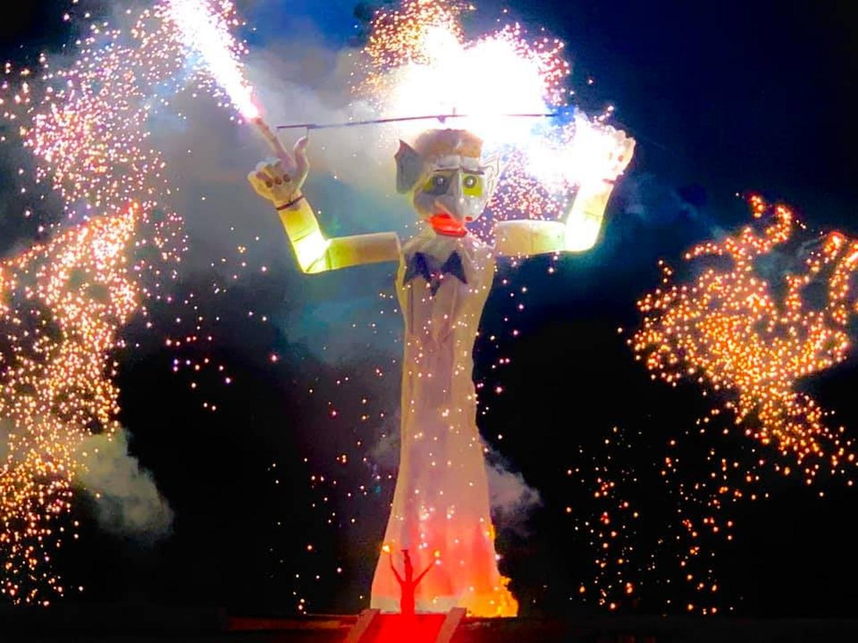 Come rain, shine or pandemic, Zozobra will burn. Courtesy Santa Fe Kiwanis