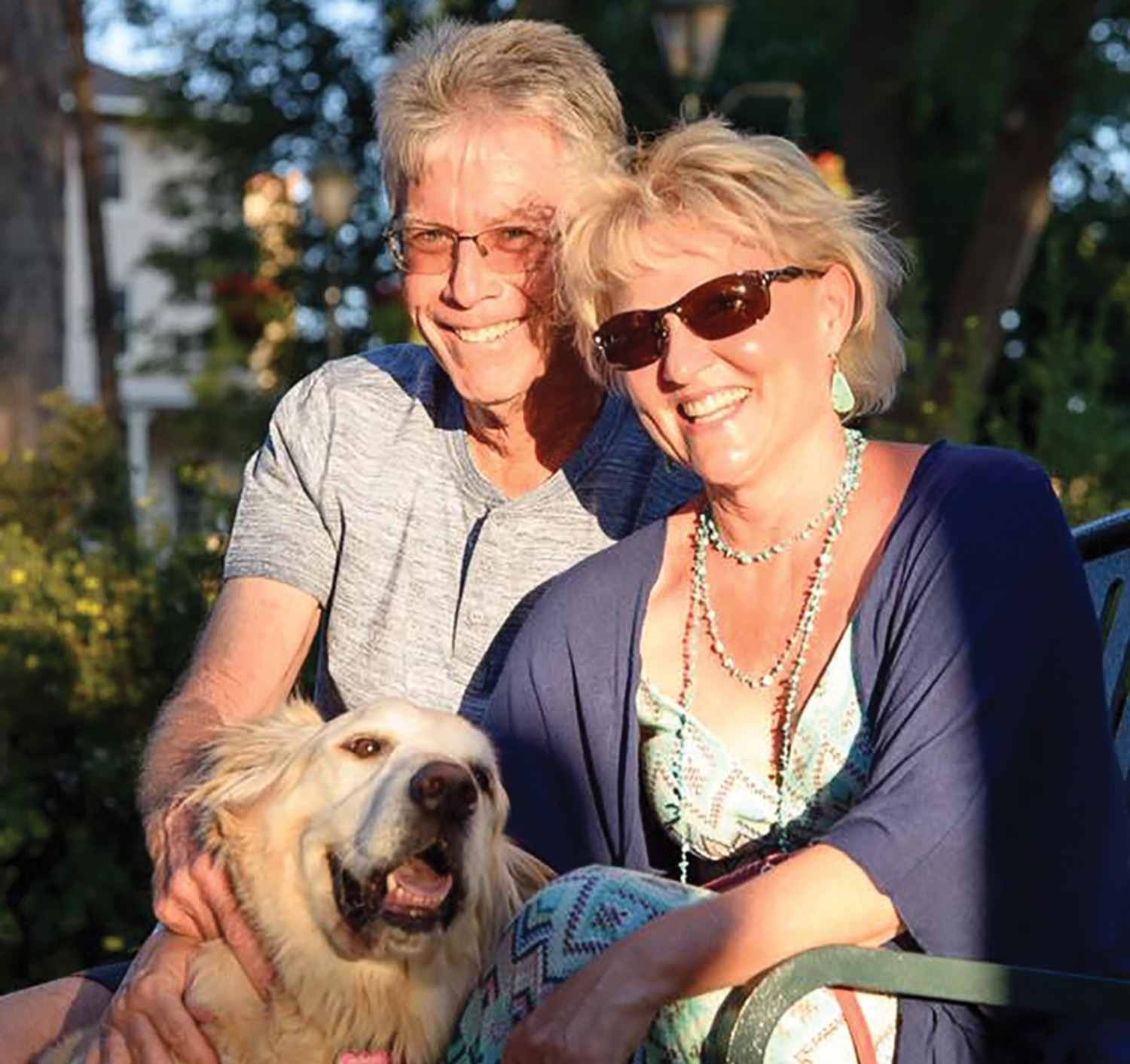 Dating coach Julie Ferman (with her husband Gil and dog Biscuit) says you can require just about anything from a relationship—as long as you're upfront about it.