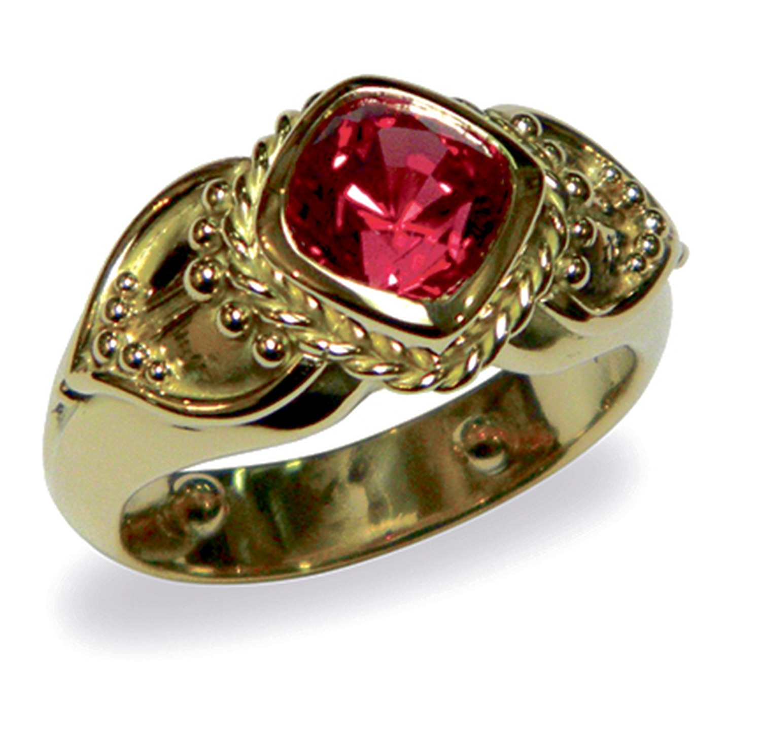 A ring from Marc Howard features an Ayervedic stone