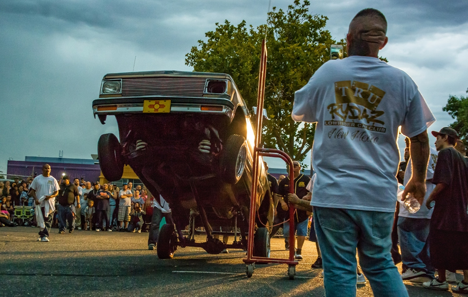 2nd Place: Lowrider Hop, competition in Albuquerque by Bobby Gutierrez