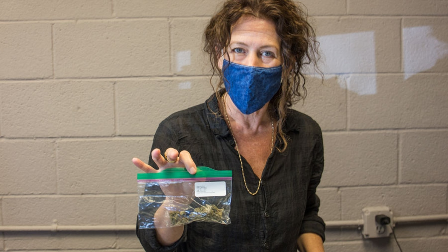 Gyana Basse carries a number of Santa Fe CBD's local products in her Hemp Apotheke.