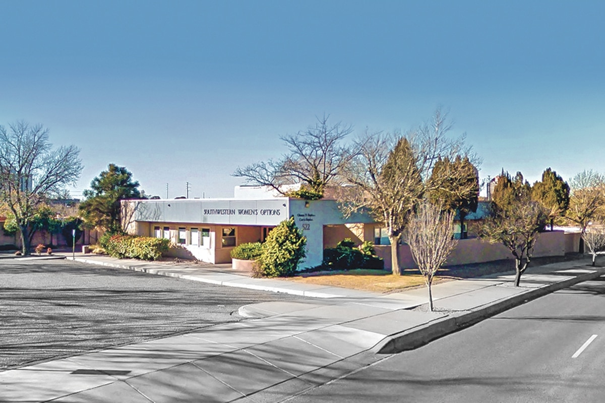 The Southwestern Women's Options clinic in Albuquerque isn't always this quiet.