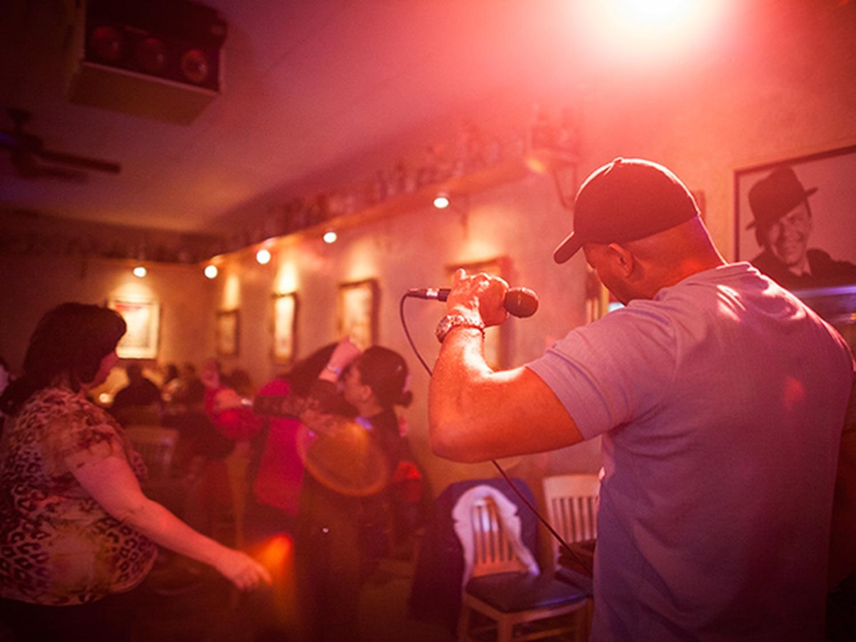 Karaoke stars shine big and bright at Tiny's.