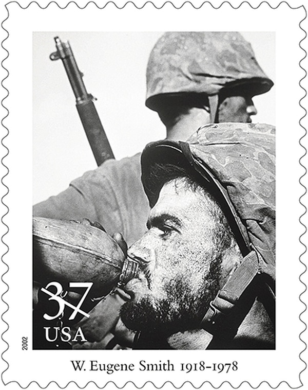 Angelo Klonis is pictured in the 2002 Masters of Photography stamp series. Along with Smith's shot, the collection included photographs by Ansel Adams and Alfred Stieglitz.